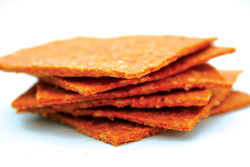 Carrot crackers