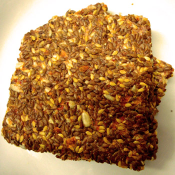 Flax Raw Crackers Piquant