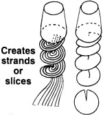 saladacco slices and strands