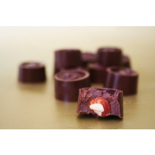 Hazelnut Covered Reishi Chocolates