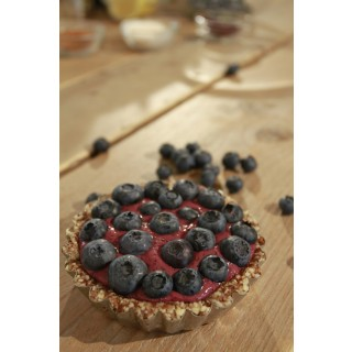 Baobab and Berry Tart