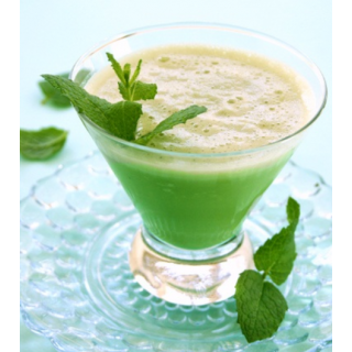 Barley Grass, Melon and Kiwi Smoothie