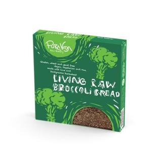Pura Vida Raw Broccoli Bread