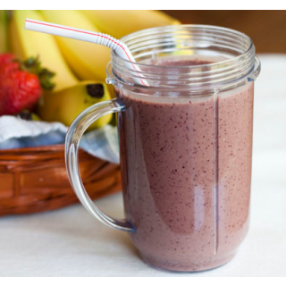 Chia Seed and Berry Smoothie