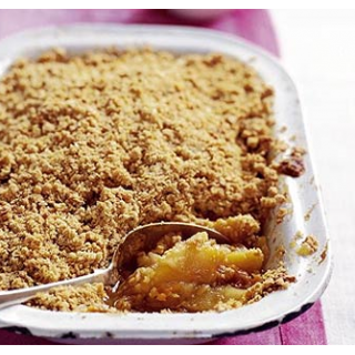 Incan Berries and Apple Crumble
