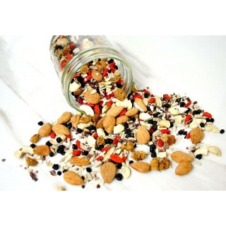 Goji Berry, Cacao and Nuts Trail Mix