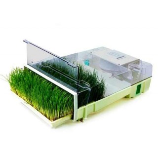 EasyGreen automatic sprouter plus wheatgrass tray