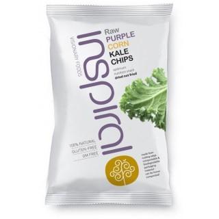 Purple Corn Kale Chips