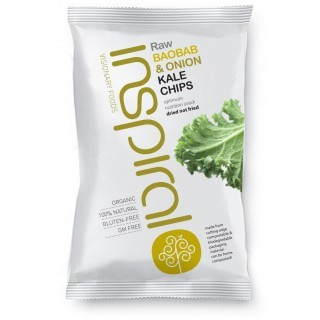 Baobab and Onion Kale Chips