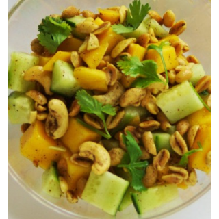 Cashew Nuts and Mango Salad