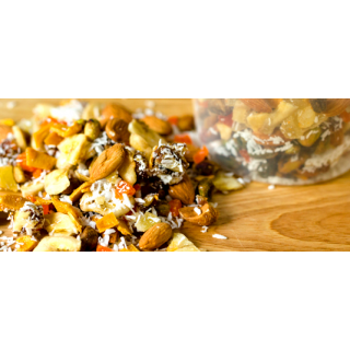 Mango and Pineapple Tropical Trail Mix