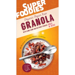 Superfoodies Red Granola – Goji and Acai