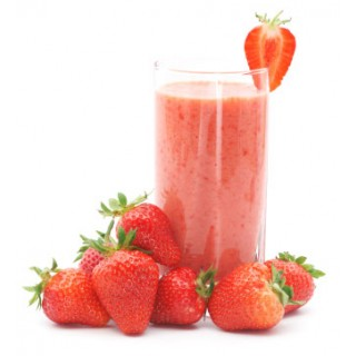 Chia Seeds and Strawberry Smoothie