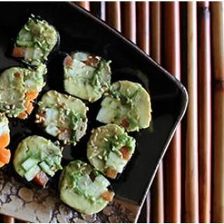 Vegan Spirulina Sushi