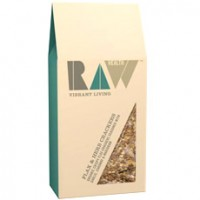 Raw Flax & Herb Crackers