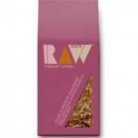 Raw Flax Pumpkin Crackers