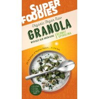 Superfoodies Green Granola – Coconut and Spirulina