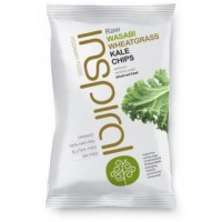 Wasabi Wheatgrass Kale Chips
