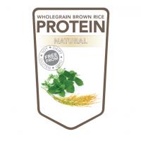 Brown rice protein powder natural – 500 grams (Superfoodies)