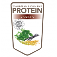 Brown rice protein powder vanilla – 500 grams (Superfoodies)